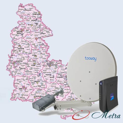 спутниковый интернет в омской области цена