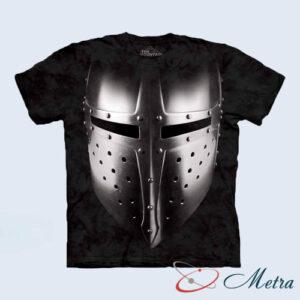 Футболка с рыцарским шлемом