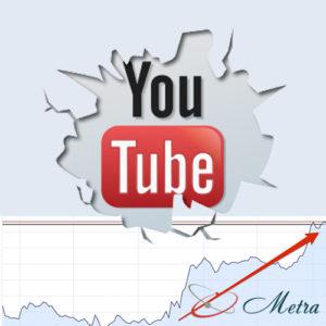 Увеличить просмотры YouTube платно
