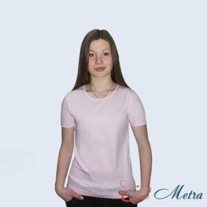 Женская футболка розовая