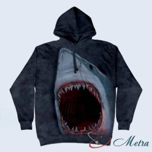 Толстовка с акулой
