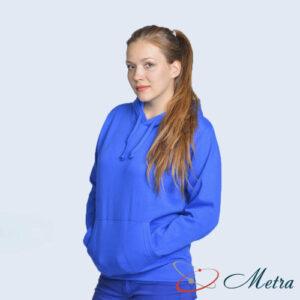 Женская толстовка синяя