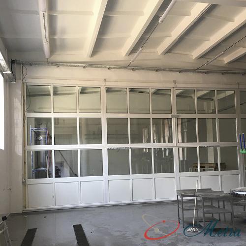 Окна внутри пивоварни