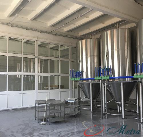 Уборка пивоварни