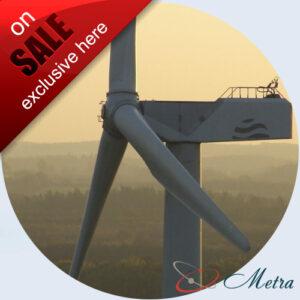 Ветрогенератор 1250 кВт б/у