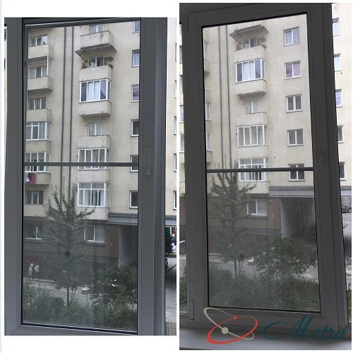 Чистое и грязное окно