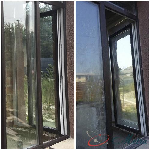 Чистые окна после ремонта