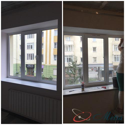 Помыть окно в комнате