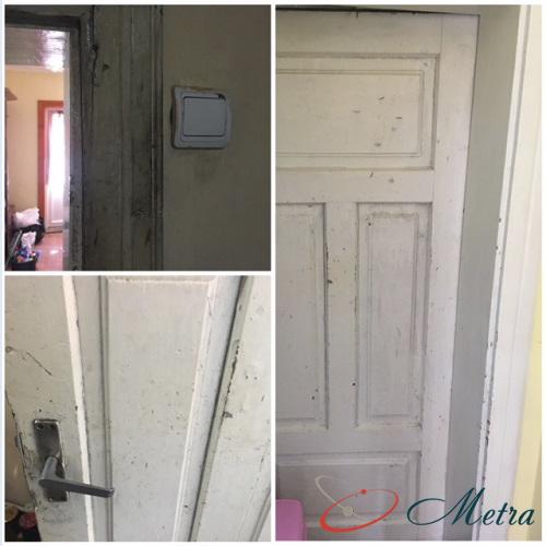 Помыть двери