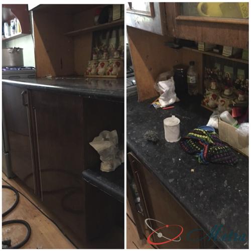 Помыть кухню