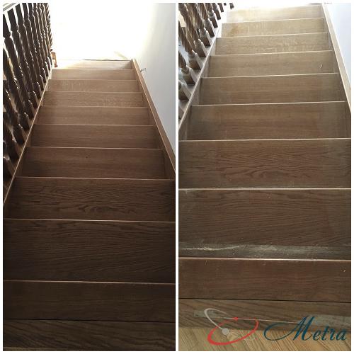 Помыть лестницу