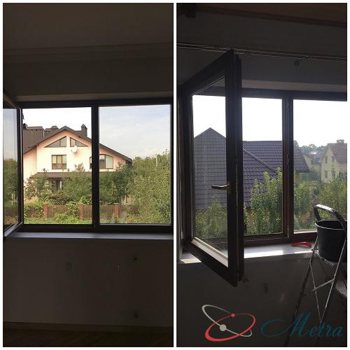 Помыть окна на втором этаже