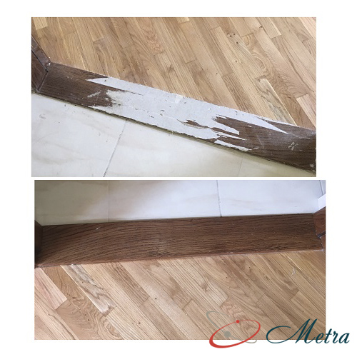 Помыть пороги после ремонта