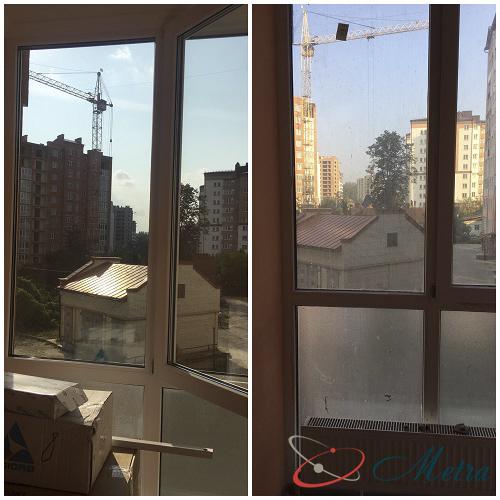 Вымыть балкон после ремонта