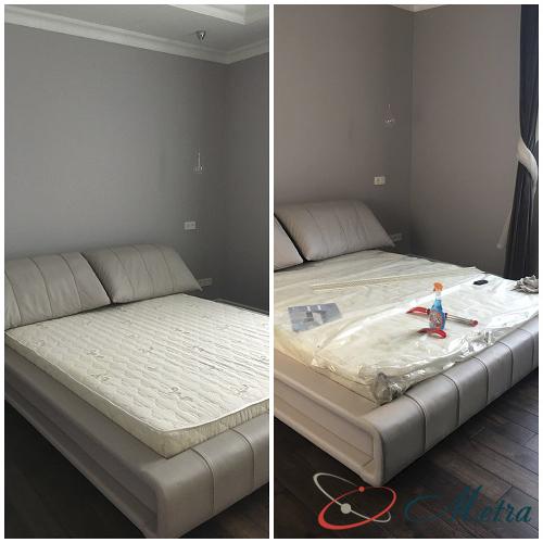 Уборка в спальне