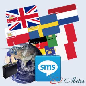 Европейский номер для SMS