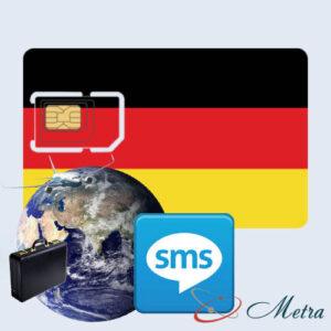 Германский номер для SMS