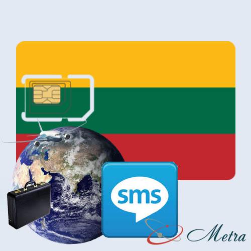 Литовский номер для SMS
