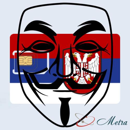 Сербская сим карта