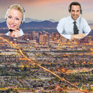 Outsourcing call center for Arizona