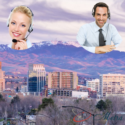 Outsourcing call center for Idaho