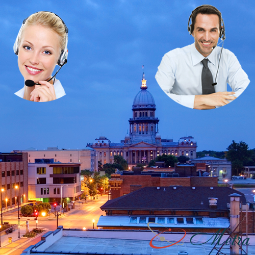 Outsourcing call center for Illinois