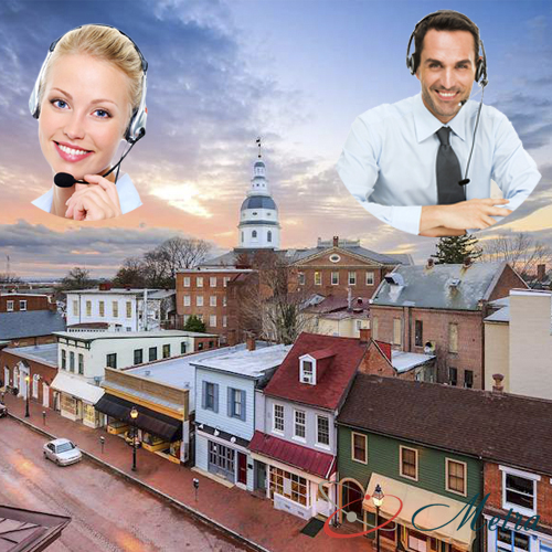 Outsourcing call center for Maryland