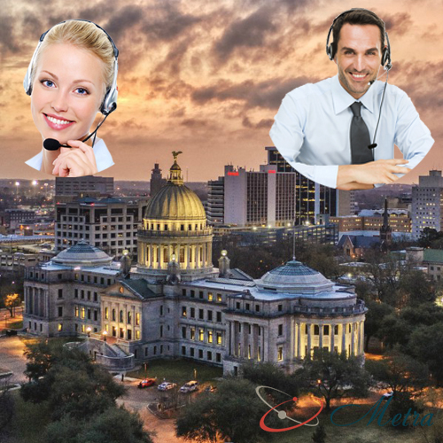 Outsourcing call center for Mississippi