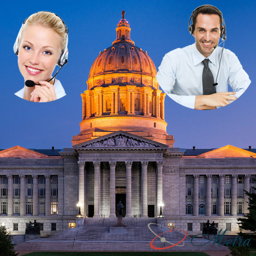 Outsourcing call center for Missouri