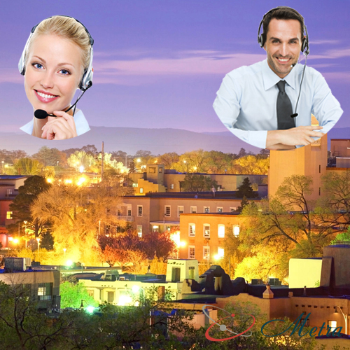 Outsourcing call center for New Mexico