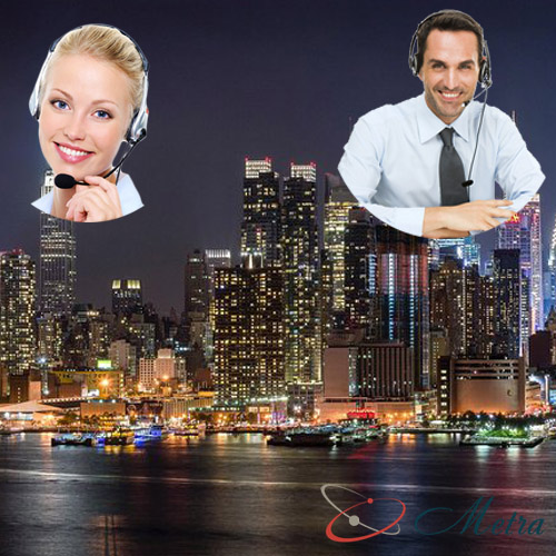 Outsourcing call center for New York