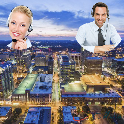 Outsourcing call center for North Carolina