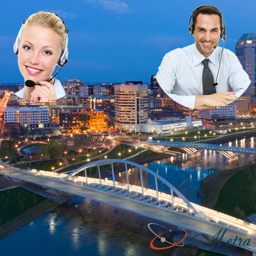 Outsourcing call center for Ohio