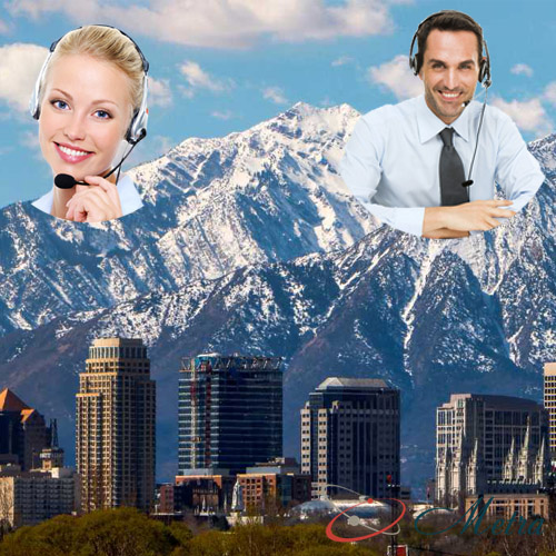 Outsourcing call center for Utah