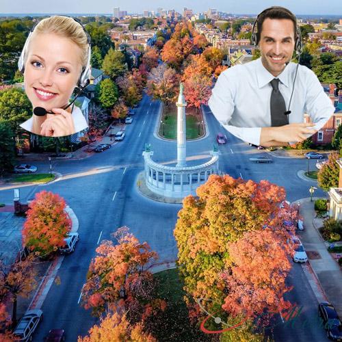 Outsourcing call center for Virginia
