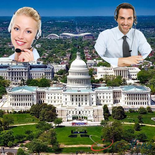Outsourcing call center for Washington