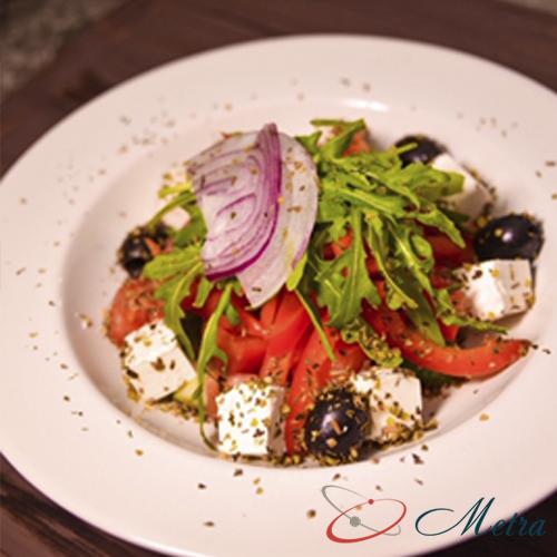 овощные салаты из ресторана