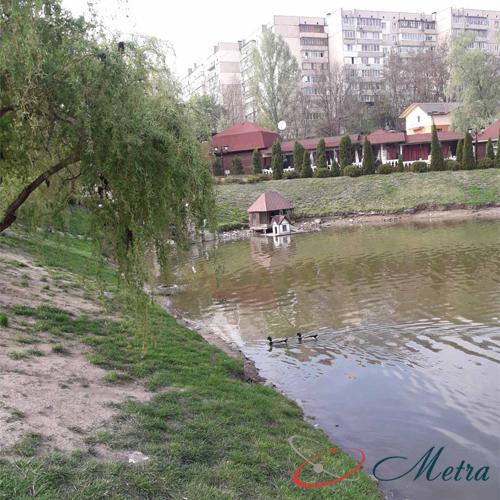 озеро в Обухове