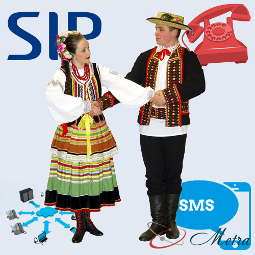 SIP номер Польша