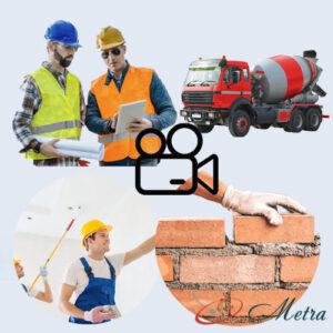 Видеонаблюдение для строительства
